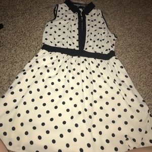Polka dot dress from forever 21!